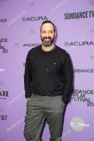 """Tony Hale attends the premiere of """"Nine Days"""" at the Eccles Theatre during the 2020 Sundance Film Festival, in Park City, Utah"""