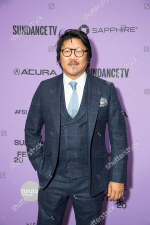 """Benedict Wong attends the premiere of """"Nine Days"""" at the Eccles Theatre during the 2020 Sundance Film Festival, in Park City, Utah"""