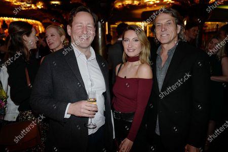 Ed Verney, Amy Webster, and Stephen Webster