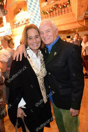 Stock Photo of Cathrin and Werner Baldessarini