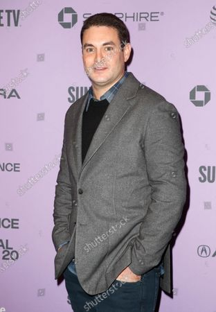 Vice President of Mandalay Pictures and US film producer Jason Michael Berman arrives for the premiere of 'Nine Days' at the 2020 Sundance Film Festival in Park City, Utah, USA, 27 January 2020. The festival runs from  the 22 January to 02 February 2020.