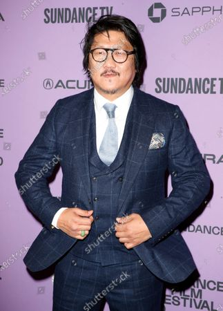 English-Hong Kong actor Benedict Wong arrives for the premiere of 'Nine Days' at the 2020 Sundance Film Festival in Park City, Utah, USA, 27 January 2020. The festival runs from  the 22 January to 02 February 2020.