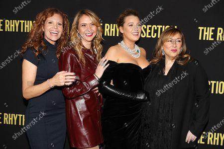 Robyn Lively, Ofira Sandberg, Blake Lively and Lorraine Schwartz