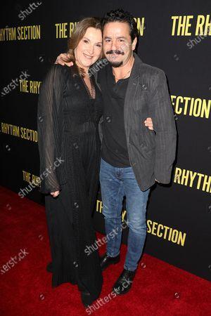 Barbara Broccoli (Producer) and Max Casella