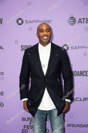 """Stock Image of Datari Turner attends the premiere of """"Nine Days"""" at the Eccles Theatre during the 2020 Sundance Film Festival, in Park City, Utah"""