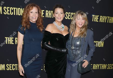 Stock Image of Robyn Lively, Blake Lively and Elaine Lively