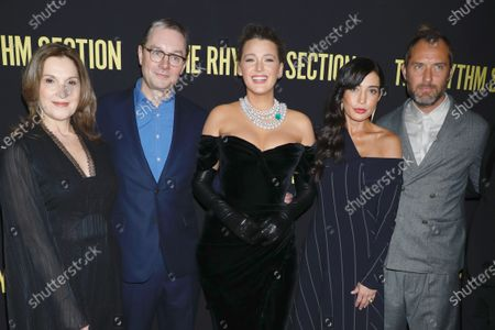 Barbara Broccoli, Mark Burnell, Blake Lively, Reed Morano and Jude Law