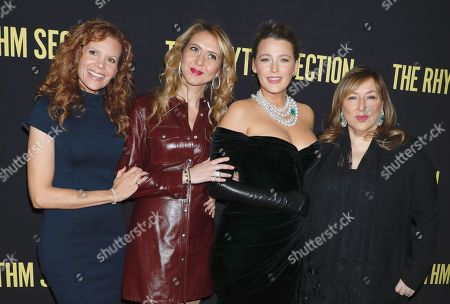 Stock Photo of Robyn Lively, Ofira Sandberg, Blake Lively and Lorraine Schwartz