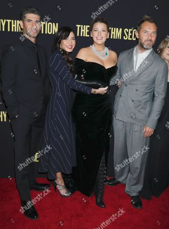 Raza Jaffrey, Reed Morano, Blake Lively and Jude Law