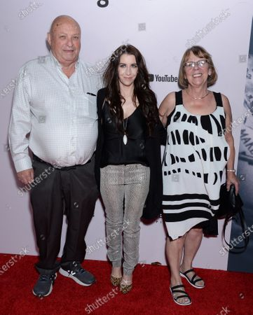 Pattie Mallette and parents