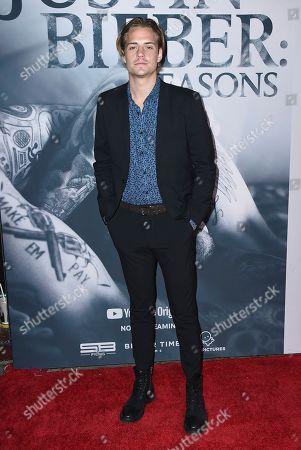 "Corey Harper arrives at the Los Angeles premiere of ""Justin Bieber: Seasons"" on"