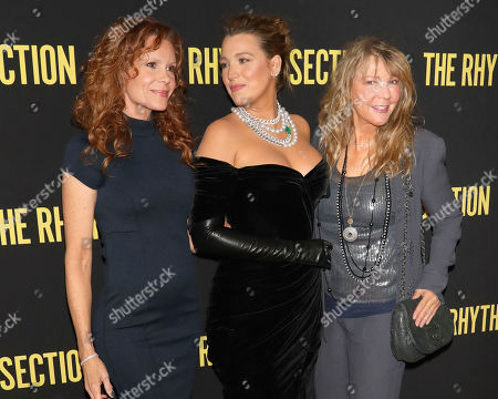 "Robyn Lively, Blake Lively, Elaine Lively. Robyn Lively, from left, Blake Lively and Elaine Lively attend a special screening of Paramount Pictures' ""The Rhythm Section"" at the Brooklyn Academy of Music, in New York"