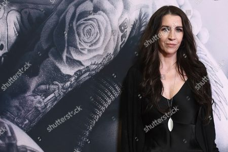 "Pattie Mallette arrives at the Los Angeles premiere of ""Justin Bieber: Seasons"