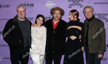 Editorial photo of 'Tesla' film premiere, Arrivals, Sundance Film Festival, Park City, USA - 27 Jan 2020