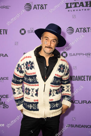 "Carlos Leal attends the premiere of ""The Last Thing He Wanted"" at the Eccles Theatre during the 2020 Sundance Film Festival, in Park City, Utah"