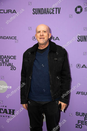 "Stock Photo of Cassian Elwes attends the premiere of ""The Last Thing He Wanted"" at the Eccles Theatre during the 2020 Sundance Film Festival, in Park City, Utah"