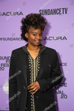 "Tamar-kali attends the premiere of ""The Last Thing He Wanted"" at the Eccles Theatre during the 2020 Sundance Film Festival, in Park City, Utah"