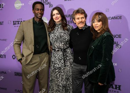 """Editorial picture of 2020 Sundance Film Festival - """"The Last Thing He Wanted"""" Premiere, Park City, USA - 27 Jan 2020"""