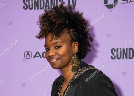 "Stock Photo of Tamar-kali attends the premiere of ""The Last Thing He Wanted,"" at the Eccles Theatre during the 2020 Sundance Film Festival, in Park City, Utah"