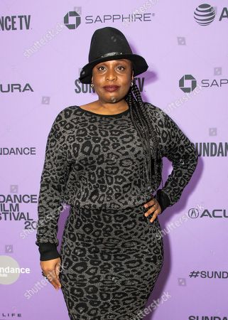 """Dee Rees attends the premiere of """"The Last Thing He Wanted,"""" at the Eccles Theatre during the 2020 Sundance Film Festival, in Park City, Utah"""