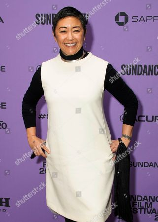 """Stock Picture of Ane Crabtree attends the premiere of """"The Last Thing He Wanted,"""" at the Eccles Theatre during the 2020 Sundance Film Festival, in Park City, Utah"""
