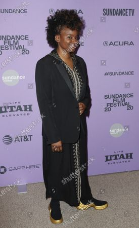 Tamar-kali arrives for the premiere of 'The Last Thing He Wanted' at the 2020 Sundance Film Festival in Park City, Utah, USA, 27 January 2020. The festival runs from 22 January to 02 February 2020.