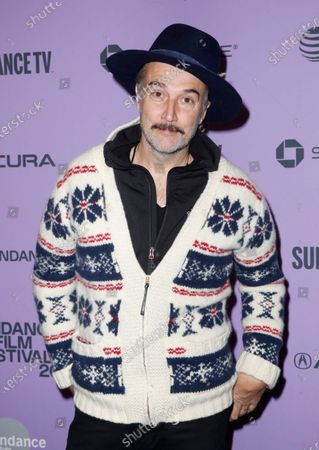 Carlos Leal arrives for the premiere of 'The Last Thing He Wanted' at the 2020 Sundance Film Festival in Park City, Utah, USA, 27 January 2020. The festival runs from 22 January to 02 February 2020.