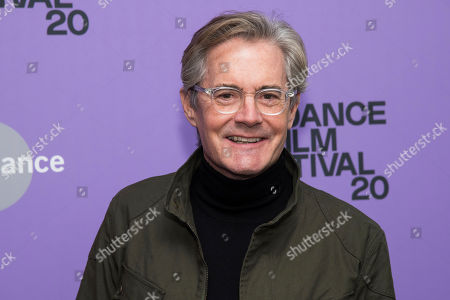 "Kyle MacLachlan attends the premiere of ""Tesla"" at the Library Center Theatre during the 2020 Sundance Film Festival, in Park City, Utah"