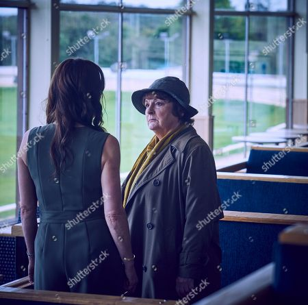 Stock Picture of Brenda Blethyn as Vera and Anna Wilson-Jones as Orla Cossdale.