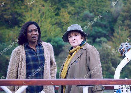 Brenda Blethyn as Vera and Karen Bryson as Lousie Wilmott.