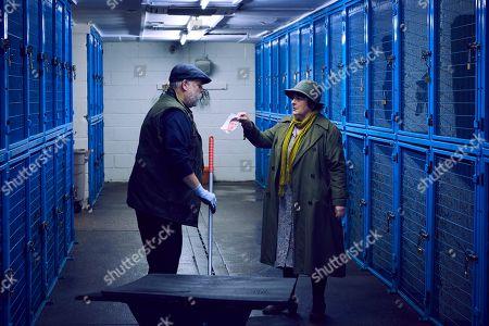 Brenda Blethyn as Vera and Rob Arthur as Jackie Nolan.