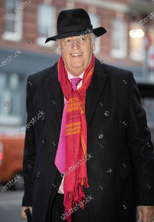 Stock Image of QC Michael Mansfield arrives at the Grenfell Inquiry phase two.