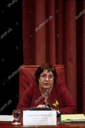 Editorial image of Imprisoned former regional ministers attend a parliamentary commission, Barcelona, Spain - 28 Jan 2020
