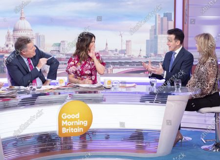 Editorial photo of 'Good Morning Britain' TV show, London, UK - 28 Jan 2020