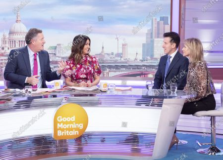 Editorial image of 'Good Morning Britain' TV show, London, UK - 28 Jan 2020