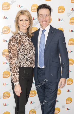 Stock Image of Erin Boag and Anton Du Beke