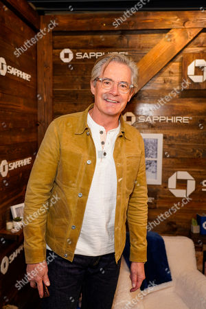 Kyle MacLachlan poses for a photo at the Los Angeles Times Studio at Sundance Film Festival presented by Chase Sapphire, in Park City, Utah