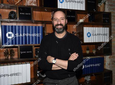 """IMAGE DISTRIBUTED FOR CHASE SAPPHIRE - Actor Tony Hale seen at the """"Nine Days"""" cast party at Chase Sapphire on Main at Sundance Film Festival 2020 on in Park City, Utah"""