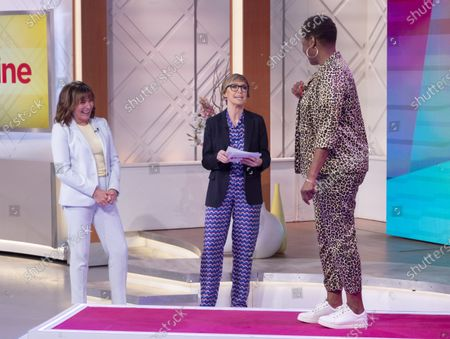 Editorial picture of 'Lorraine' TV show, London, UK - 28 Jan 2020