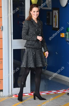 Catherine Duchess of Cambridge visits a National Portrait Gallery Workshop at Evelina London Children's Hospital