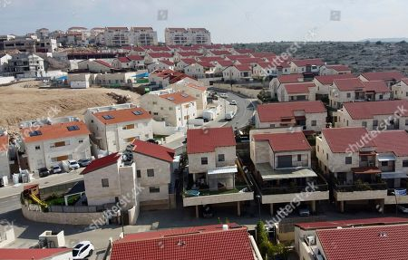A view of the Jewish West Bank settlement of Ari'el, . U.S. President Donald Trump is set to unveil his administration's much-anticipated Mideast peace plan in the latest American venture to resolve the Israeli-Palestinian conflict