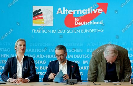 Editorial picture of Joint press conference of German AfD and Austrian FPOe politicians in Berlin, Germany - 28 Jan 2020
