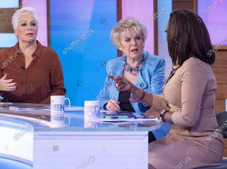 Denise Welch, Gloria Hunniford and Kelle Bryan