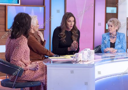 Andrea McLean, Denise Welch, Caitlyn Jenner, Gloria Hunniford