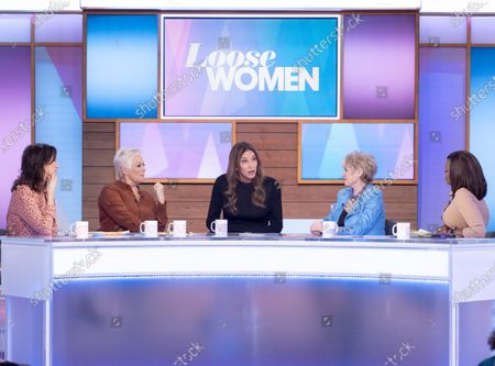 Editorial image of 'Loose Women' TV show, London, UK - 28 Jan 2020