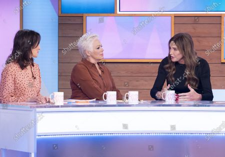 Editorial picture of 'Loose Women' TV show, London, UK - 28 Jan 2020