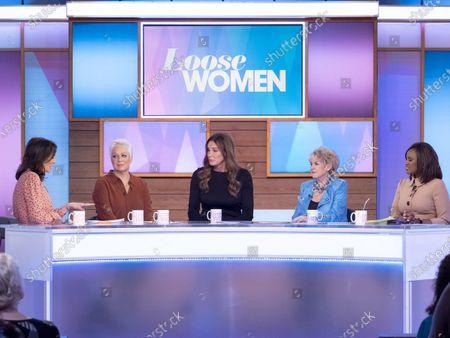 Editorial photo of 'Loose Women' TV show, London, UK - 28 Jan 2020