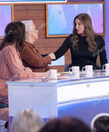Andrea McLean, Denise Welch, Caitlyn Jenner