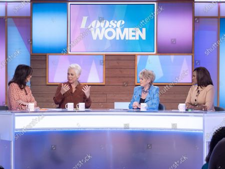 Andrea McLean, Denise Welch, Gloria Hunniford and Kelle Bryan