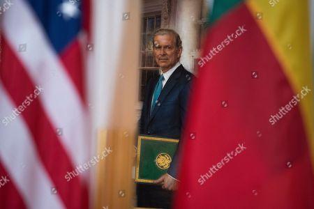 Editorial picture of US Benin, Washington, USA - 28 Jan 2020